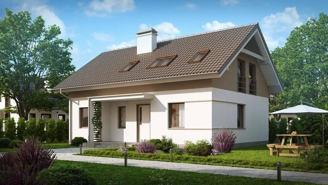 Проект енергозберігаючого класичного будинку з мансардою