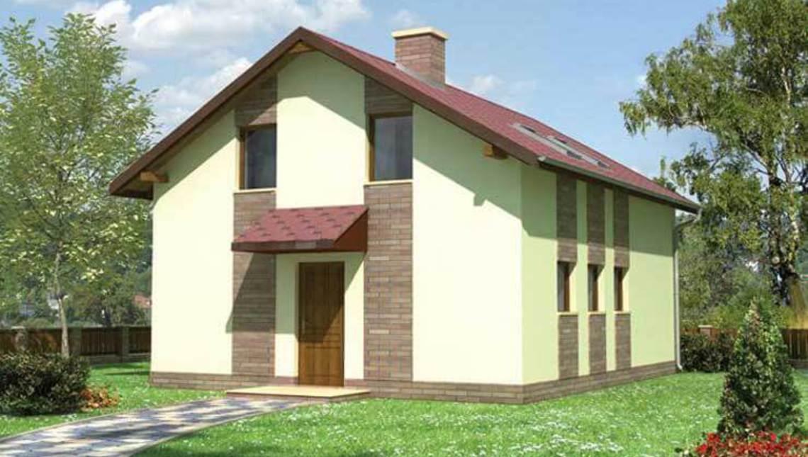Гаражне приміщення з житловою частиною на горищі