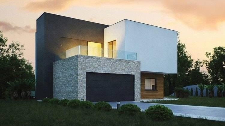 Проект невеликого будинку для похилої ділянки