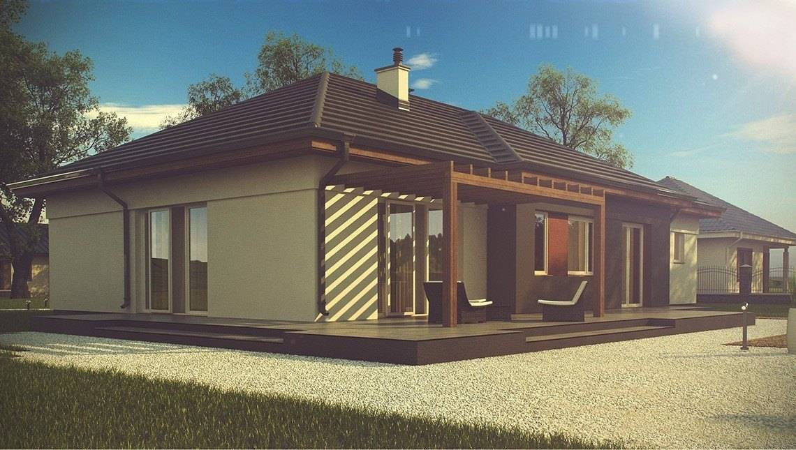 Класичний одноповерховий будинок