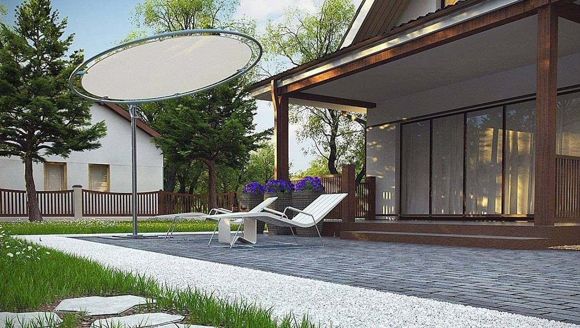Проект компактного будинку з мансардою 80 m²