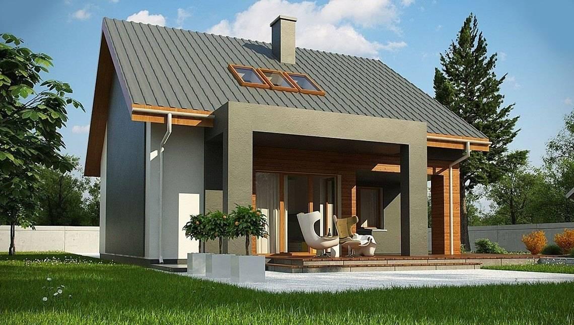 Стильний проект сучасного будинку з цегляним фасадом