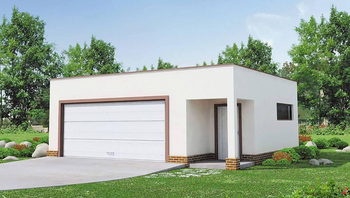 Мінімалістичний проект гаража на дві машини