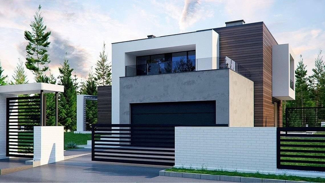 Проект двоповерхового особняка з площею понад 300 m²
