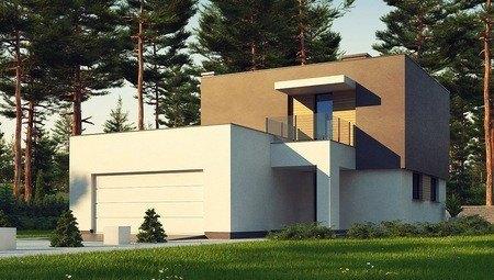 Проект сучасного компактного двоповерхового будинку площею 150 m²