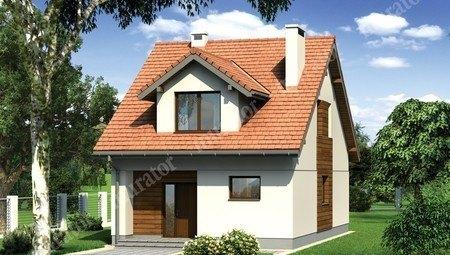 Житловий будинок для вузької ділянки