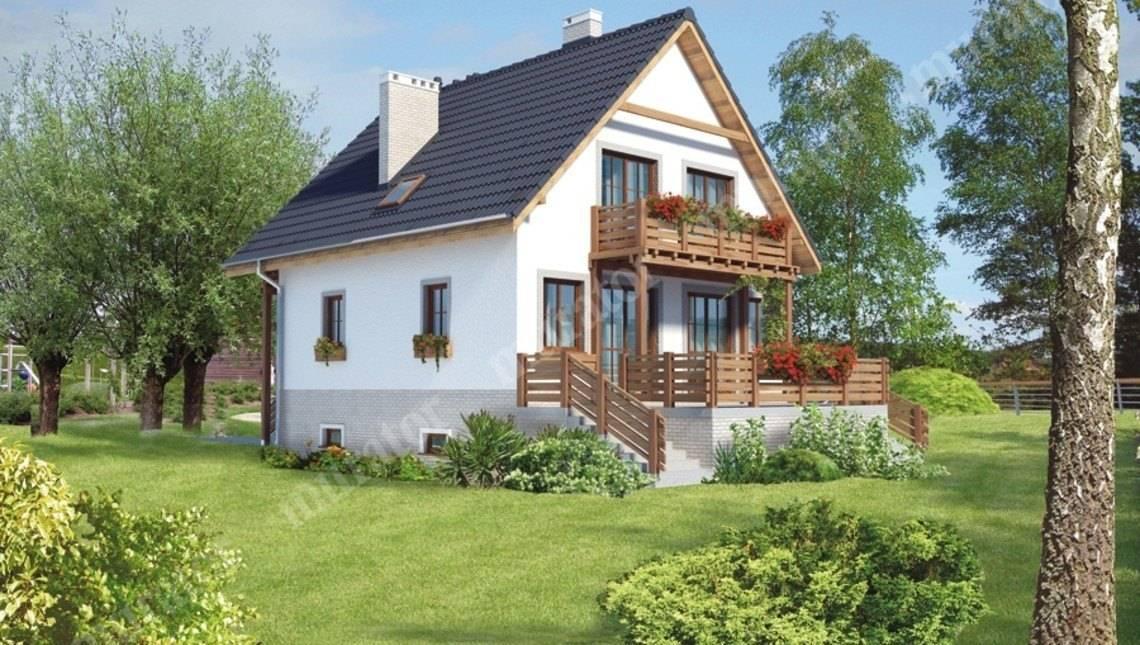 Видатний будинок з цокольним поверхом