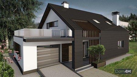 Просторий мансардний житловий будинок на 4 спальні