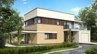 Проект сучасного двоповерхового будинку
