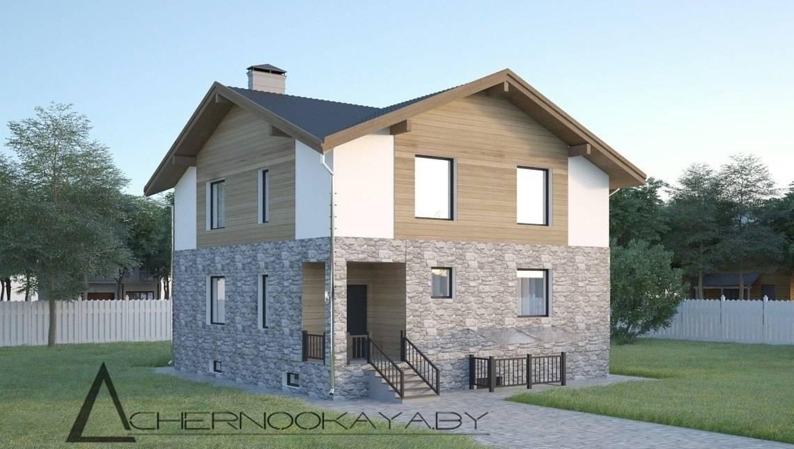 План шикарного просторого особняка житловою площею 130 кв. м