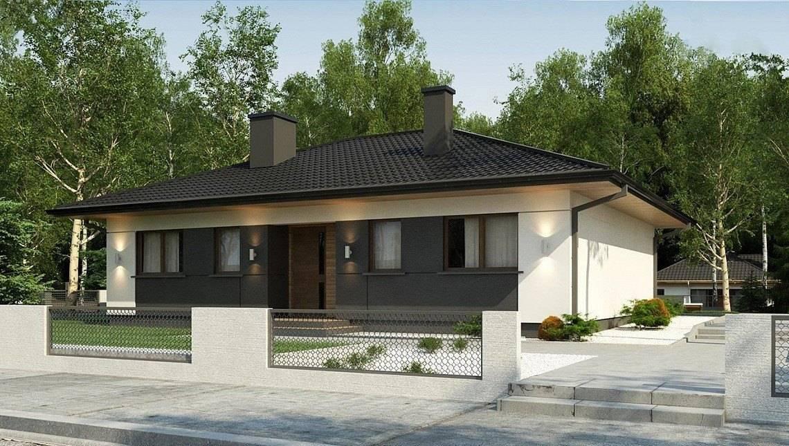 Проект компактного житлового будинку на 124 кв. м для проживання невеликої родини