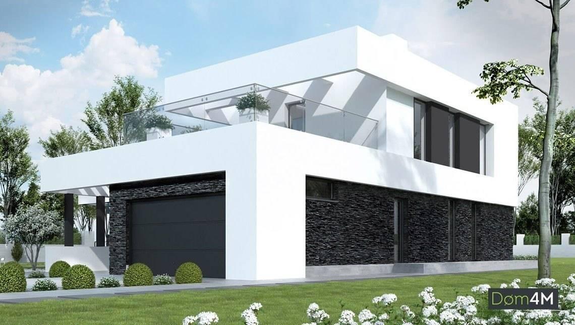 Чудовий двоповерховий будинок мінімалістичного стилю
