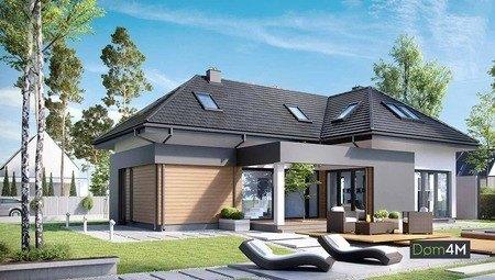Красивий житловий будинок з каміном в центрі