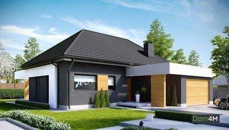 Помпезний житловий будинок з просторим гаражем