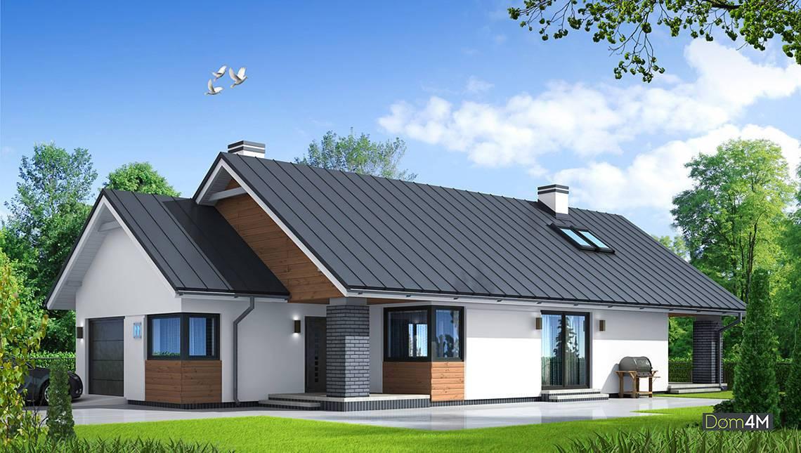 Файний житловий будинок з чотирма спальнями для вузької ділянки