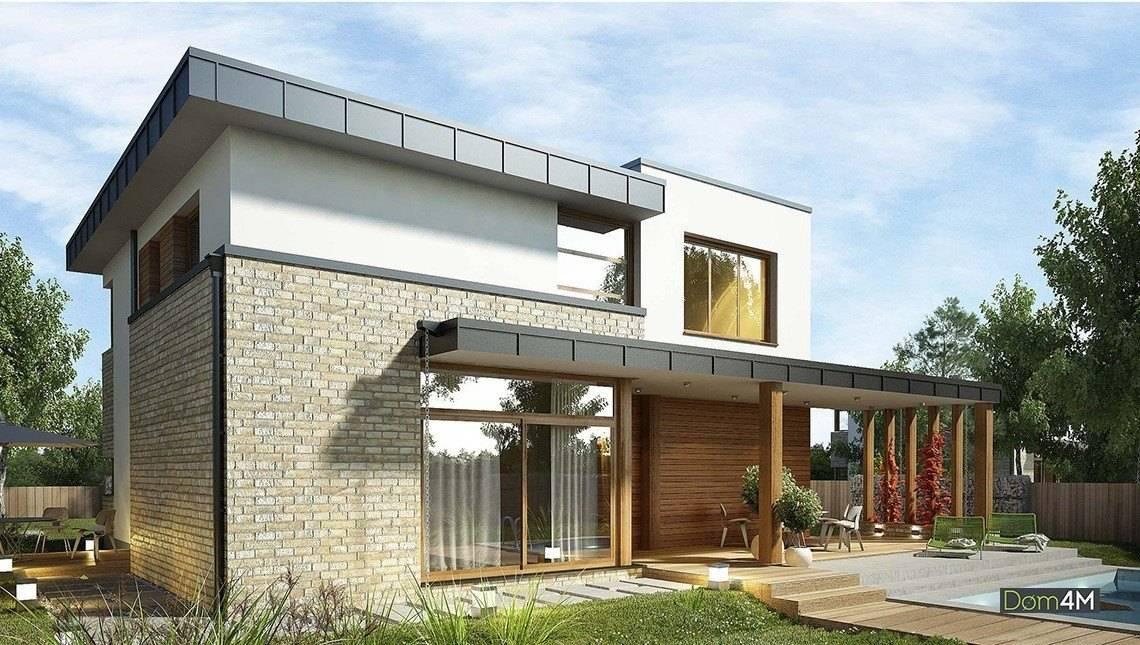 Гарний будинок з верандами і терасами