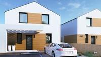 Невеликий житловий будинок з трьома особистими кімнатами