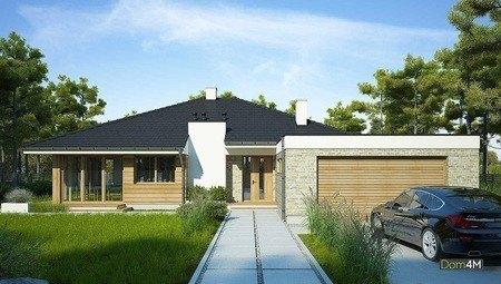 Одноповерховий будинок з просторою відкритою вітальнею