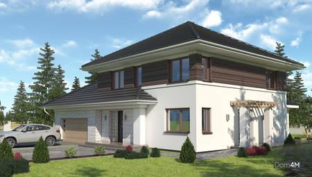 Гарний житловий будинок з просторим гаражем та п'ятьма спальнями