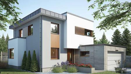Проект оригінального будинку з зручним плануванням