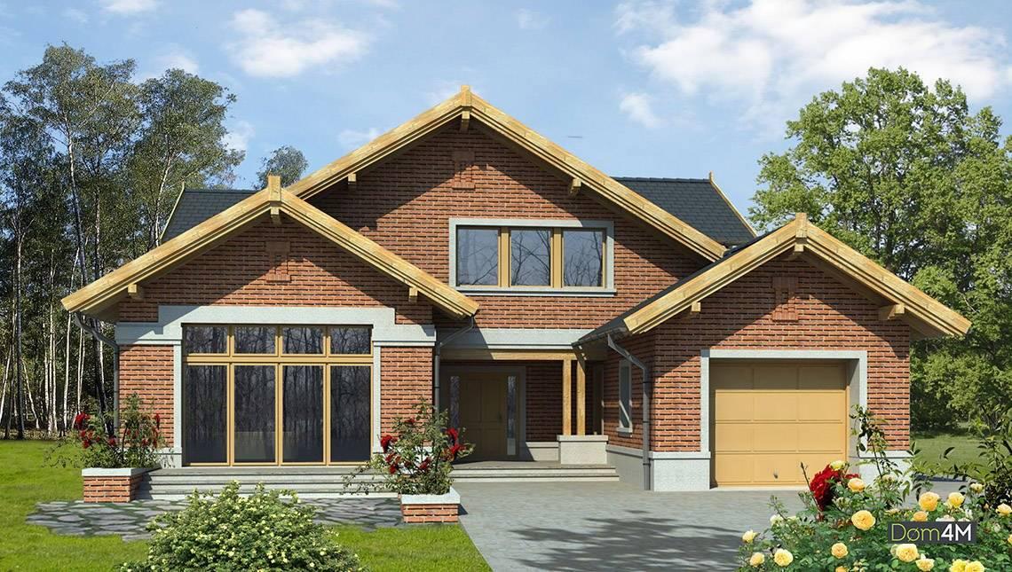 Красивий двоповерховий будинок для великої родини