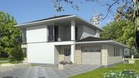 Проект розкішного будинку з чотирьма спальнями