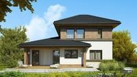Красивий будинок з житловою площею в 130 квадратів