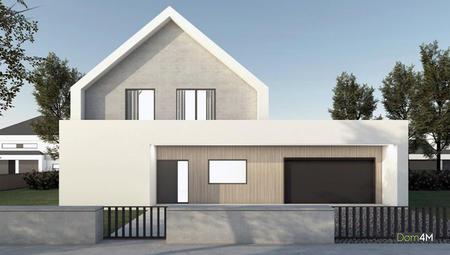 Проект котеджу в стилі барнхаус з цокольним поверхом
