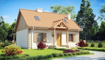 Проект затишного будинку з додатковою спальнею