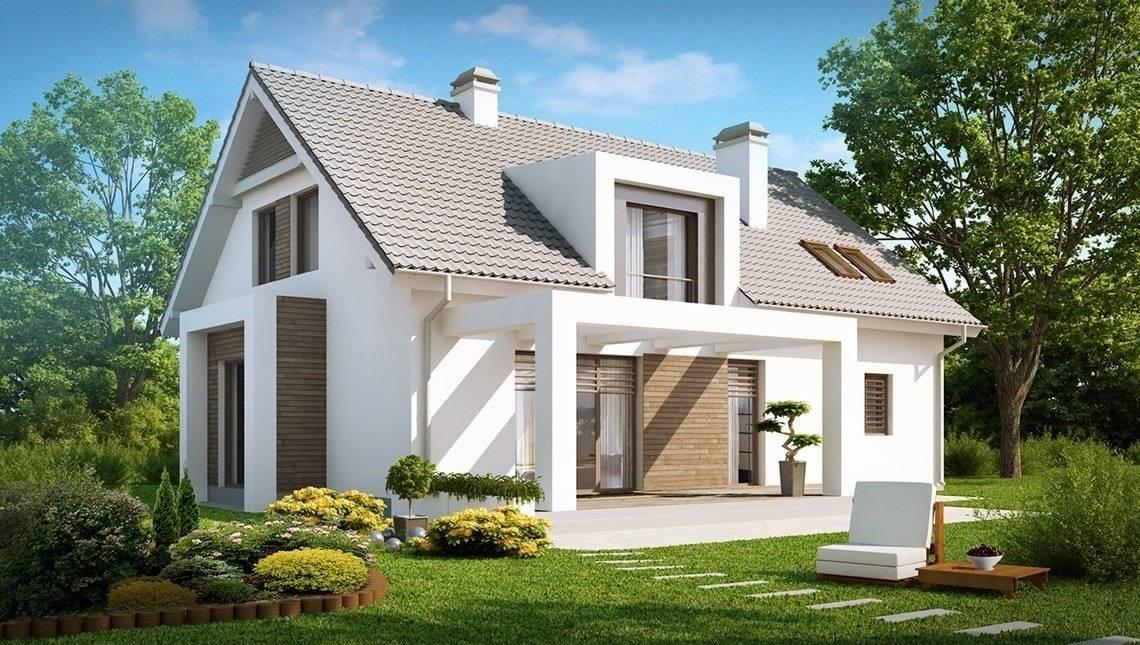 Проект класичного будинку з затишним інтер'єром