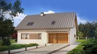 Проект класичного будинку з гаражем, додатковою спальнею