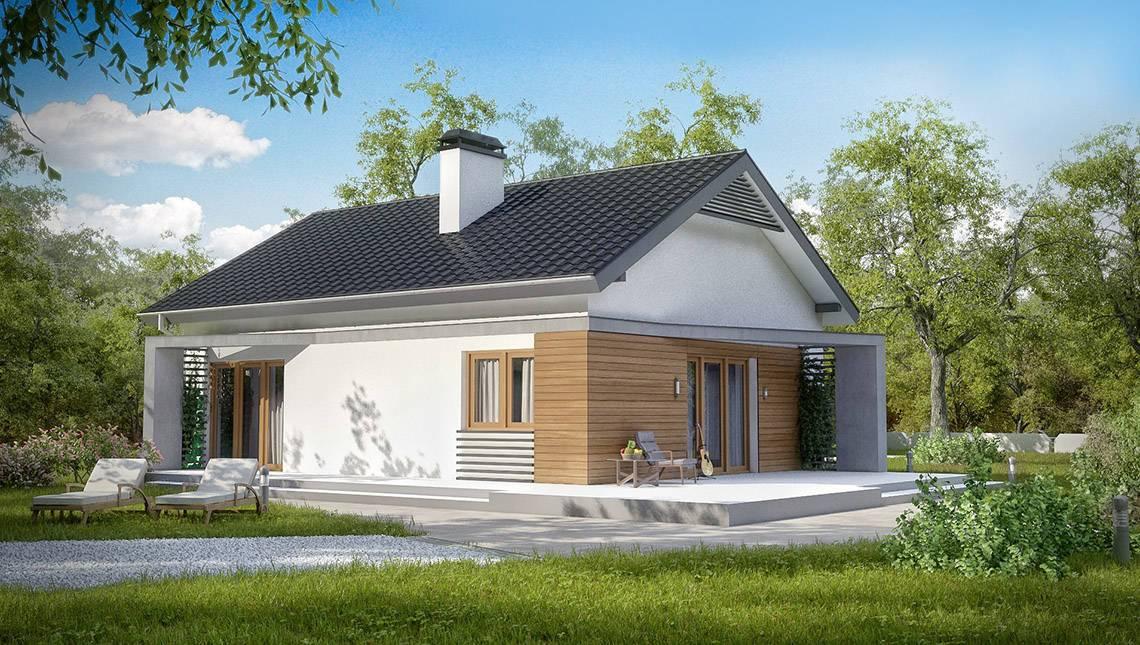 Проект класичного будинку сучасного планування