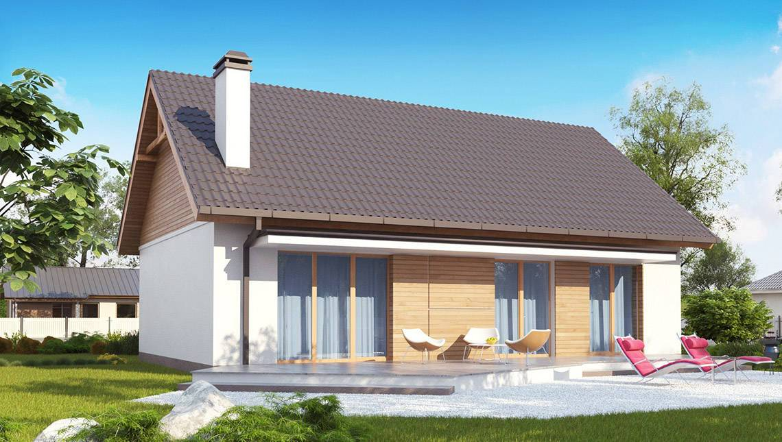 Проект одноповерхового економічного та функціонального будинку