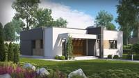 Проект невеликого будинку хай-тек