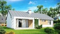 Проект одноповерхового сучасного будинку