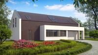 Проект сучасного будинку з двома спальнями