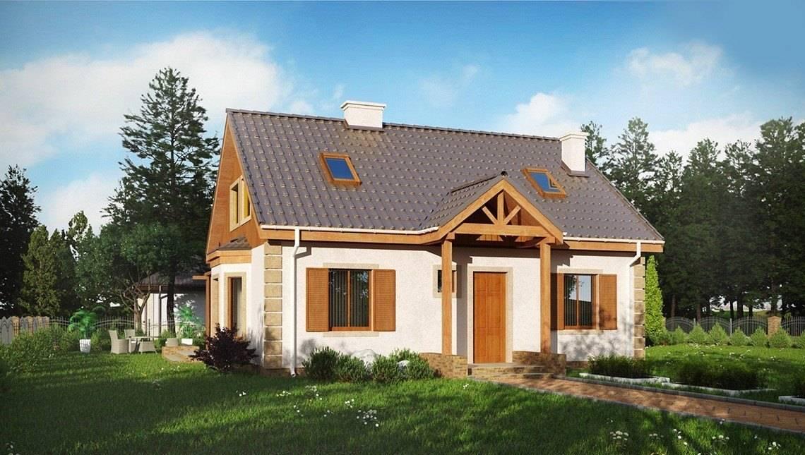 Проект для будівництва заміського будинку площею 140 m²