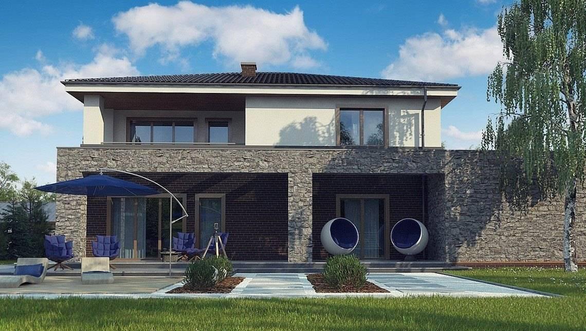 Проект класичного двоповерхового будинку