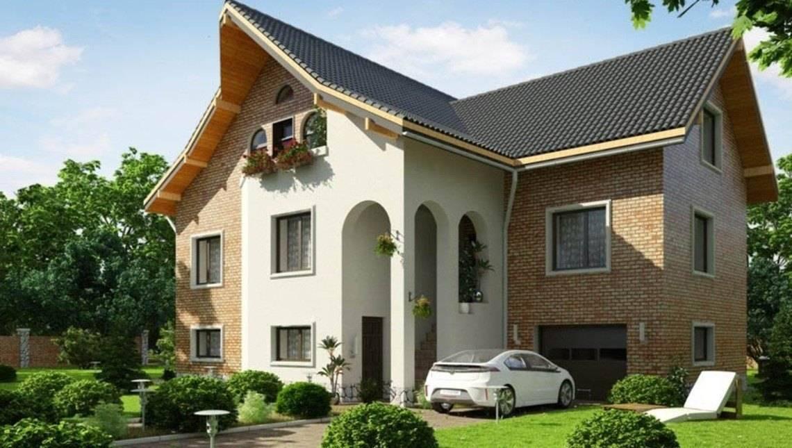 Проект триповерхової садиби в класичному стилі