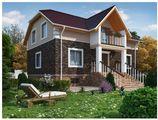Проект класичного будинку з цокольним поверхом