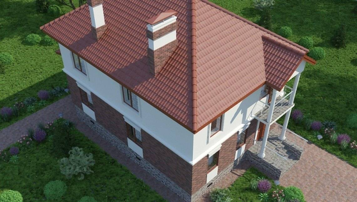 Двоповерховий котедж з окремим виходом на простору терасу