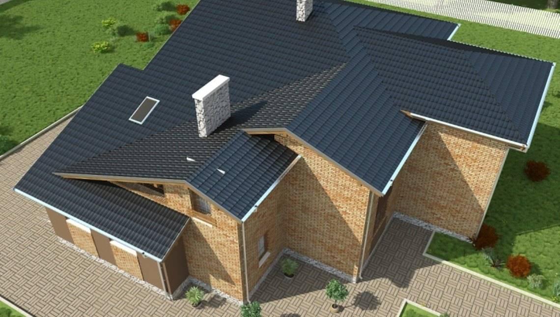 Проект цегляного двоповерхового будинку