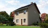 Двоповерховий будинок на 120 m²
