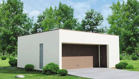 Проект сучасного практичного гаража з піноблоків
