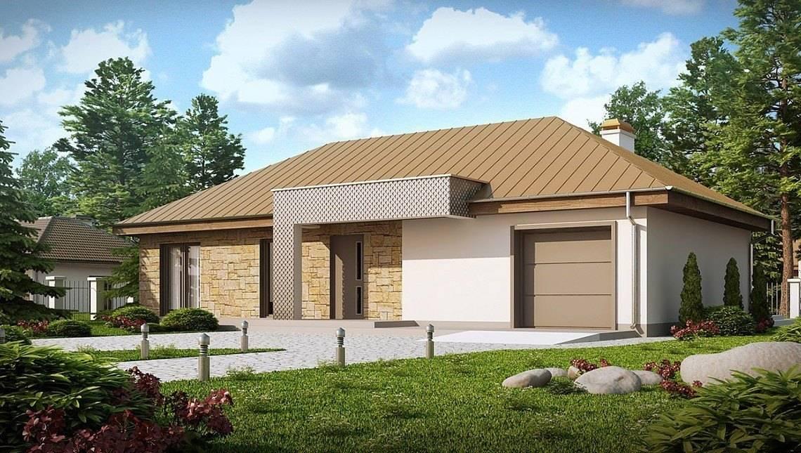 Версія одноповерхового будинку 4M090 з переплануванням