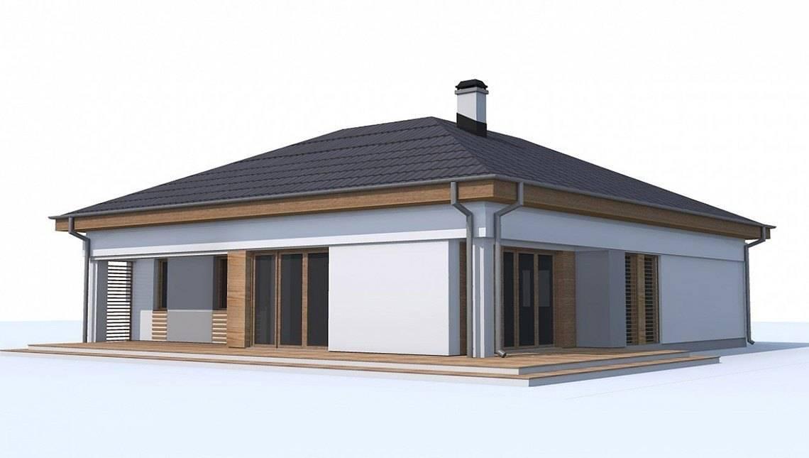 Версія проекту 4M174 без гаража з окремим кабінетом