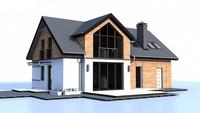 Проект збільшеного будинку за типом 4M220