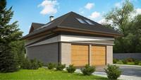 Комфортний будинок з мансардою в європейському стилі