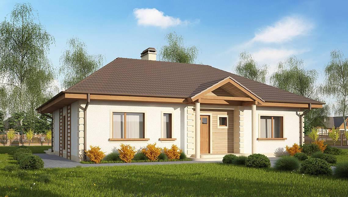 Проект одноповерхового будинку по типу 4M512 без гаража