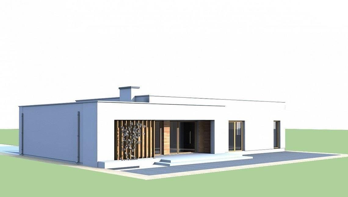 Одноповерховий будинок по типу 4M590 з гаражем